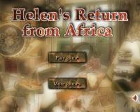 Хелен возвращается из Африки